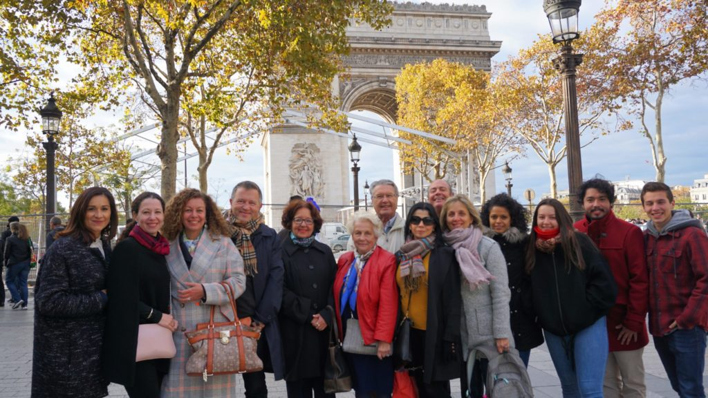 Bénévoles de l'Association réunis à Paris