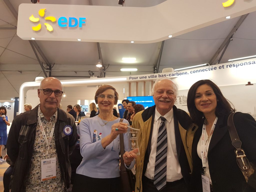 Trophée des associations remis par EDF