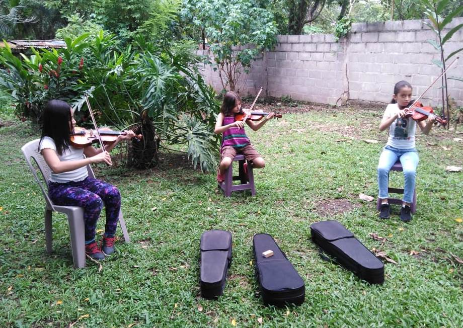 Classe de violon